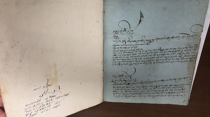 Kitąmet Lietuvoje bus eksponuojamas vertingas žydų istorijos ir kultūros dokumentas