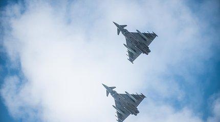NATO oro policijos naikintuvai per savaitę tris kartus kilo atpažinti Rusijos orlaivių