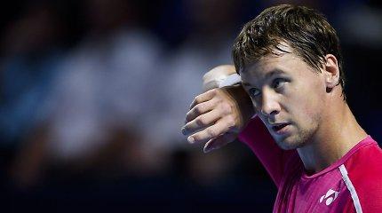 Prasta savaitė: ATP reitinge krito visi Lietuvos tenisininkai