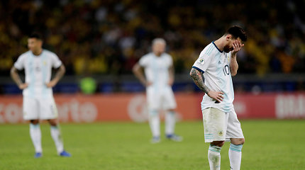 """""""Copa America"""": L.Messi vėl liks be titulo – Brazilija palaužė Argentiną ir žengė į finalą"""