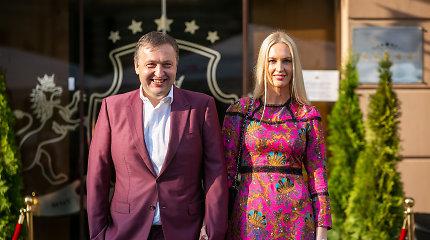 Antanas Guoga oficialiai skiriasi su žmona: santuoka truko šešerius metus