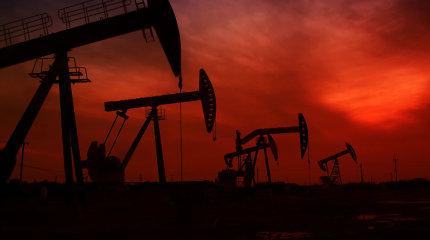 Naftos kainos traukia žemyn