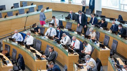 Vienai iš Seimo pasitarimų salei bus suteiktas J.Žemaičio-Vytauto vardas