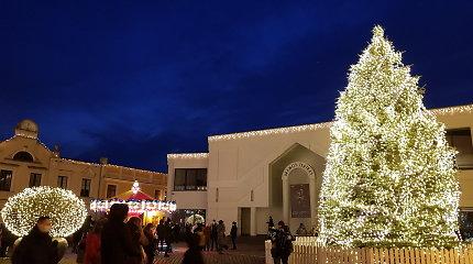 Klaipėdoje trumpam užges kalėdinės šviesos
