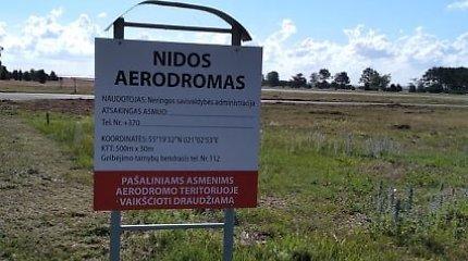 Neringoje bus aptariama Nidos aerodromo veikla ir ateitis