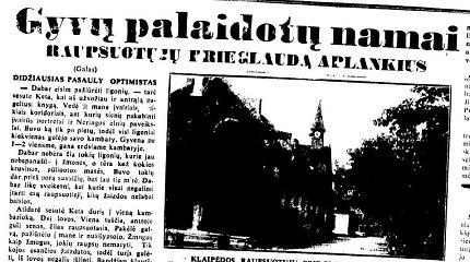 """""""Gyvų palaidotų namai"""": kaip prieš 80 metų atrodė paskutinės raupsuotųjų prieglaudos Lietuvoje kasdienybė"""