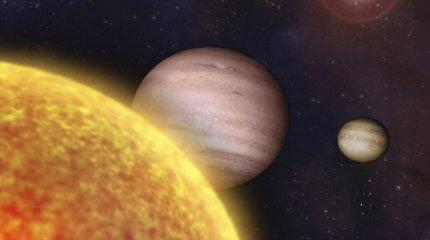 Mokslininkai mano radę senovinį neutroninių žvaigždžių susidūrimą, Saulės sistemą aprūpinusį auksu
