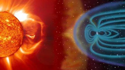 Kas nutiktų, jeigu Žemės magnetinis laukas išnyktų?