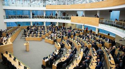 Į Seimą grįžta prezidento vetuotas Civilinio turto konfiskavimo įstatymas