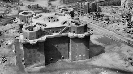 Buvęs nacių bunkeris virs prabangiu viešbučiu