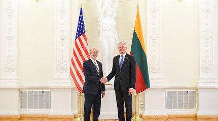 Su Pensilvanijos vadovu susitikęs G.Nausėda: JAV realiai dalyvauja Lietuvos gynyboje