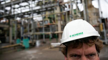 """""""Achema"""": įmonės veikla tapo nuostolinga, į prastovas išleidžiama apie 400 žmonių"""