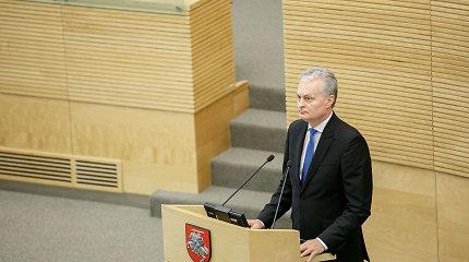 G.Nausėda pritaria parlamentiniam tyrimui dėl I.Rozovos