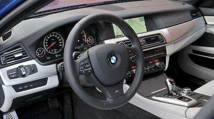 Marijampoliečiui BMW M5 nebuvo saugu palikti net garaže: remontui reikės 20 tūkst. eurų