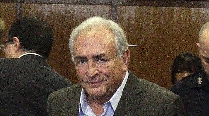 Dominique'as Straussas-Kahnas išteisintas pasaulį sukrėtusiame sekso skandale