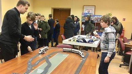 """Vilniuje duris atvėrė """"Lietuvos geležinkelių"""" inžinerijos akademija moksleiviams"""