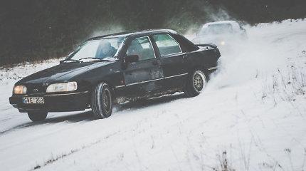 Saugi vieta žiemiškam adrenalinui prie vairo – visai šalia Kauno
