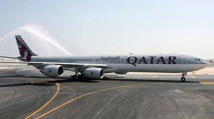 """Pasaulio oro vežėjų reitinge 2017 metais pirmauja """"Qatar Airways"""""""