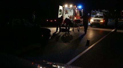 Antradienio rytą Mažeikių rajone žuvo automobilio partrenkta moteris