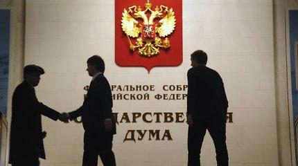Sausio 13-osios byla yra politinis procesas siekiant pakenkti Rusijai, pareiškė Dūma