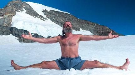 """Net mokslininkus stebinantis Wimas Hofas – apsimetėlis guru, """"ledo žmogus"""" ar paprastas mirtingasis?"""