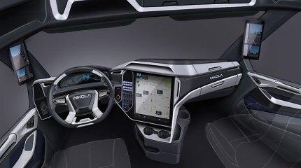 """""""Tesla Semi"""" konkurentai veržiasi į rinkos aukštumas – pristatomi naujos kartos vilkikai"""