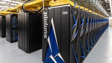 JAV paleistas galingiausias pasaulyje superkompiuteris