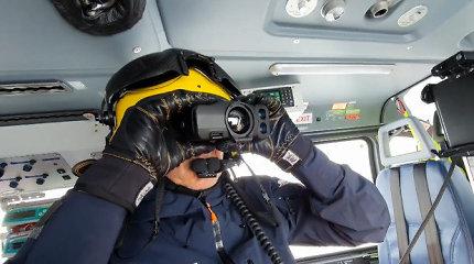 """""""Pulsar"""" termovizoriai padeda Norvegijos greitosios oro pagalbos gelbėtojams gelbėti gyvybes"""