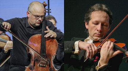 Smuikininkas V.Čepinskis ir Klaipėdos kamerinis orkestras skelbia tango revoliuciją
