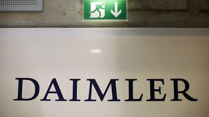 """""""Daimler"""" ir """"Geely"""" kartu kurs naujos kartos automobilius """"Smart"""""""
