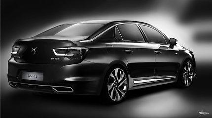 """""""Citroen"""" žengia į prabangių sedanų rinką, bet tik Kinijoje"""