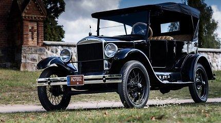 """Išrinkite """"Lietuvos Šimtmečio automobilį"""": """"Ford T"""" turėjo medinius ratlankius ir 20 AG variklį"""