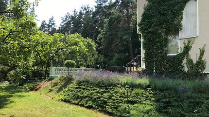 Mano kiemas: natūralistinis Rūtos gėlynas, paukščiai ir bitės