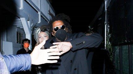 """Beyonce ir Jay-Z po """"Grammy"""" apdovanojimų"""