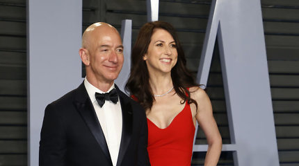 MacKenzie Bezos įsipareigojo atiduoti pusę savo turto labdarai