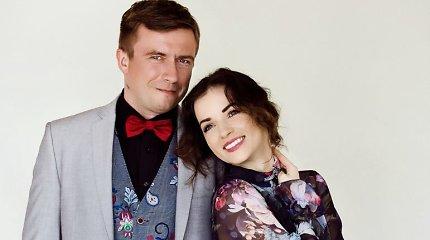 """Naują dainą pristatantys Marius Jampolskis ir Irūna Puzaraitė: """"Būtume geri sutuoktiniai"""""""