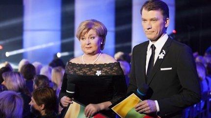 Sausio 13-ajai skirtame koncerte – prisiminimai ir liaudies dainą užtraukę Edita Mildažytė ir Marijus Žiedas