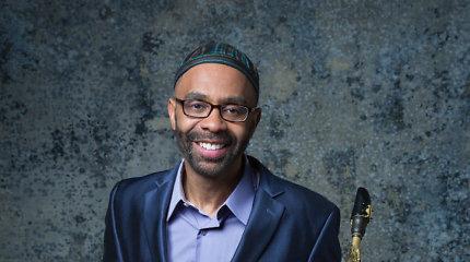 """Grammy"" laureatas saksofonininkas Kenny Garrettas grįžta į Lietuvą"
