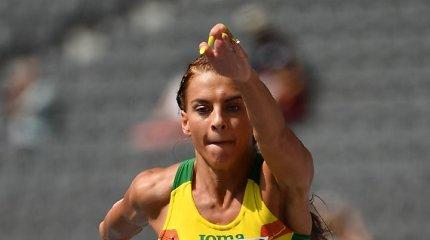 Europos-JAV akistatoje Dovilė Kilty užėmė trečią vietą