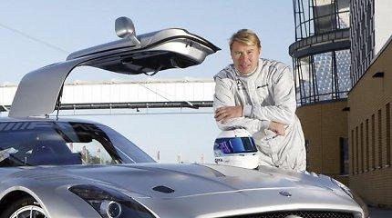 """M.Hakkinenas: """"Ferrari"""" negali daryti grubių klaidų"""