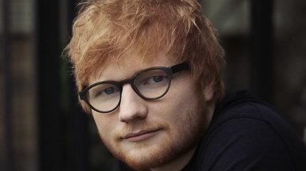 Liepą Rygoje koncertuosiantis Edas Sheeranas pristato naują, kartu su Justinu Bieberiu įrašytą dainą