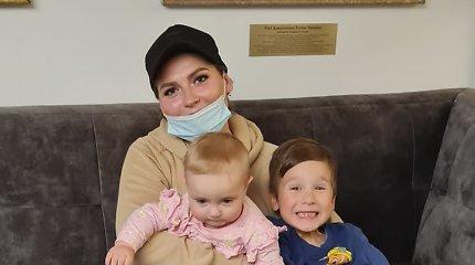 Anos stebuklas: būdama nėščia susirgo vėžiu, bet net po chemoterapijos pagimdė sveiką dukrytę