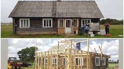 """Ritos istorija – kaip 1940 m. pastatytas namas pakeitė rūbą: """"Buvo tikrai verta"""""""