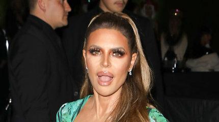 Televizijos asmenybė Lisa Rinna Helovinui įkūnijo Jennifer Lopez