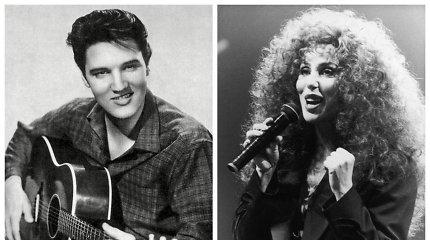 Cher ir Elvis Presley galėjo būti pora: dainininkė gailisi kadaise atstūmusi rokenrolo karalių
