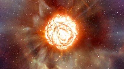 Žvaigždė Betelgeizė temsta, kinta jos regima forma: kas vyks toliau?