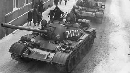 Tankai Lenkijos miestų gatvėse komunistinio režimo neišgelbėjo