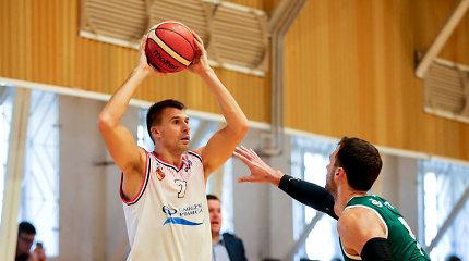 """Simonas Serapinas – ir žaidėjas, ir treneris: """"Yra daug minčių, kurios maišo"""""""
