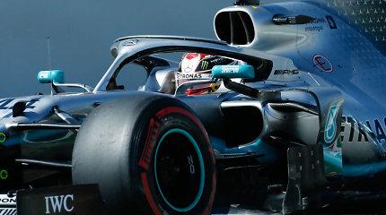 """""""Formulė 1"""" Barselonoje: S.Vettelis liko tik """"eiliniu Rajanu"""""""