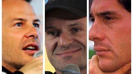 """""""Formulė-1"""" švenčia 70-metį. Ar pažinsite šiuos 10 lenktynininkų iš """"Formulės-1"""" istorijos?"""